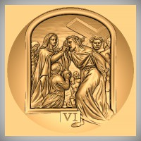 Stations of the Cross - VI