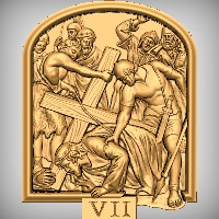 Stations of the Cross - VII