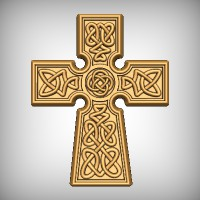 Tapered Celtic Cross