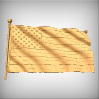 Flag - USA No.1