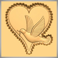 Dove and Heart