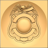 Fire/Police Badge 8