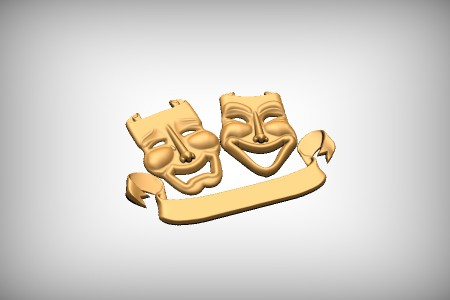 Theatre Masks 3