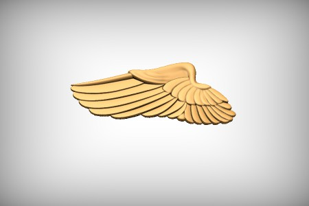 Military Wing Single