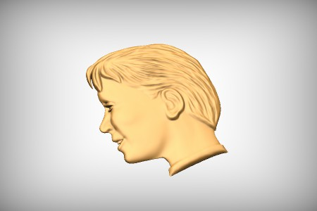 Boys Head Profile