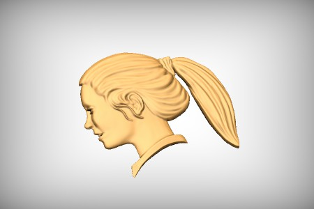 Girls Head Profile