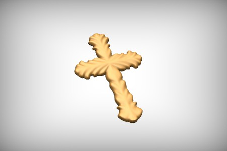 Sculpted Cross