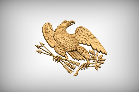 US Civil War Eagle 2B