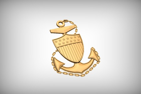 Coast Guard Chief Emblem