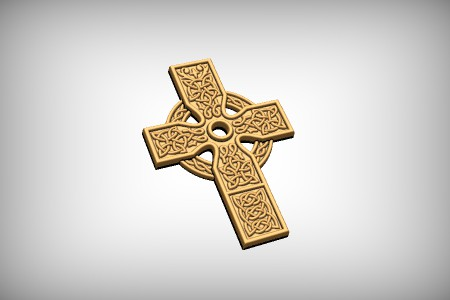 Sun Celtic Cross