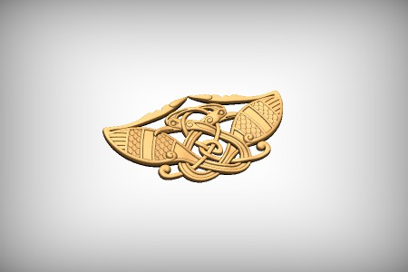 Feathered Celtic Bird Weave