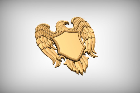Eagle Shield Emblem 2