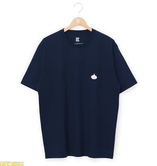 """『ドラゴンクエスト』アパレルブランド""""グラニフ""""コラボのTシャツとシャツが8月10日発売。スライムの服を装備すると""""すばやさ""""や""""うんのよさ""""が上がる!?【グラニフが あらわれた!】"""