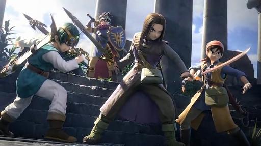 [E3 2019]「スマブラSP」に「ドラクエ」の「勇者」たちが参戦! 最後の切り札はシリーズの主人公たちがそろい踏み
