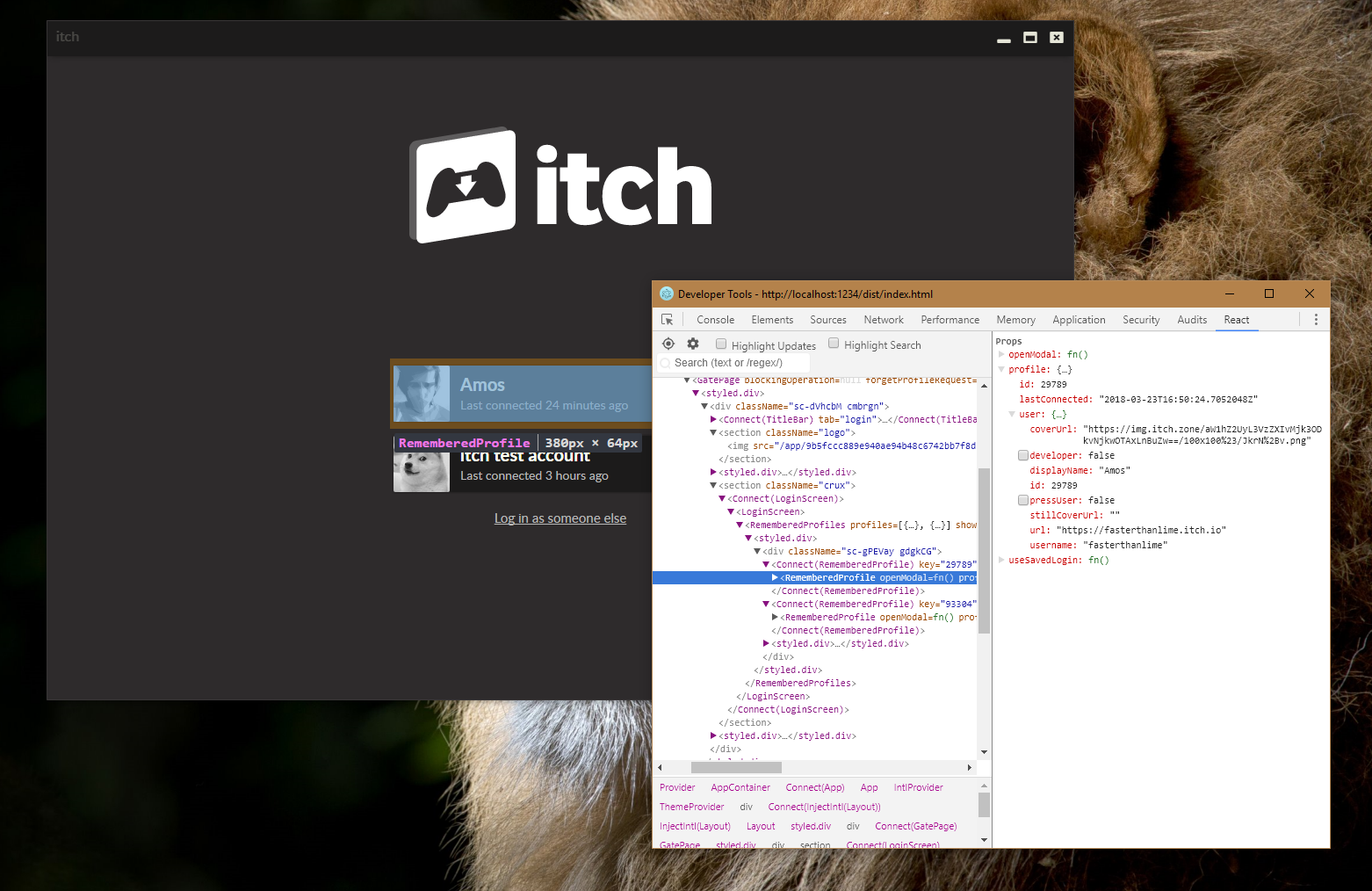 Getting started with the codebase · The itch io app book