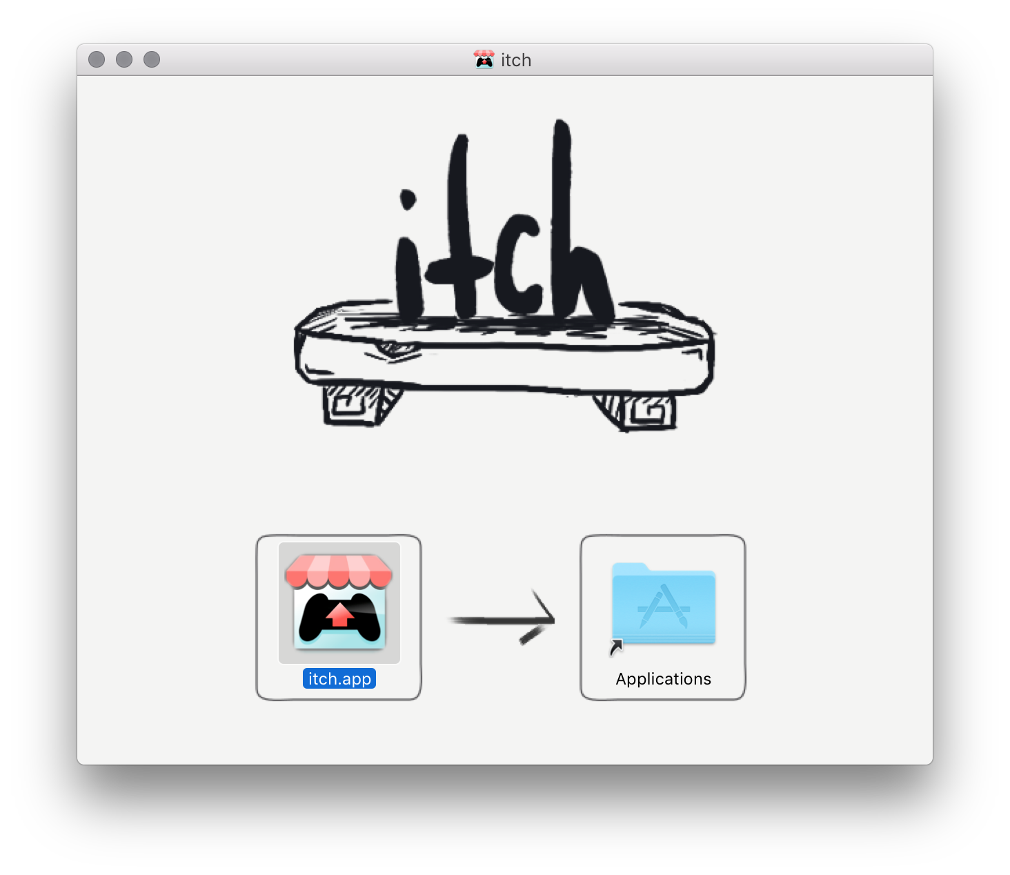 OSX · The itch app manual - itch io