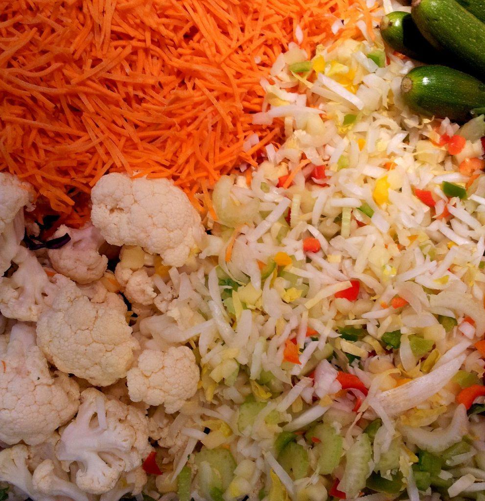 Aliments crus utilisés dans le régime seignalet