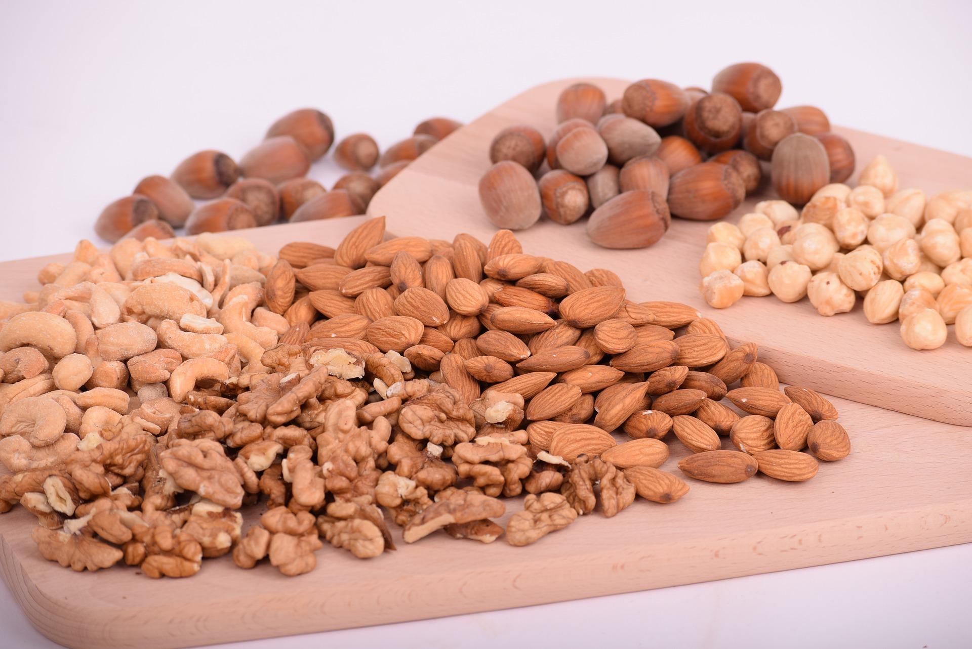L'acide alpha-linolénique est présent dans les noix.