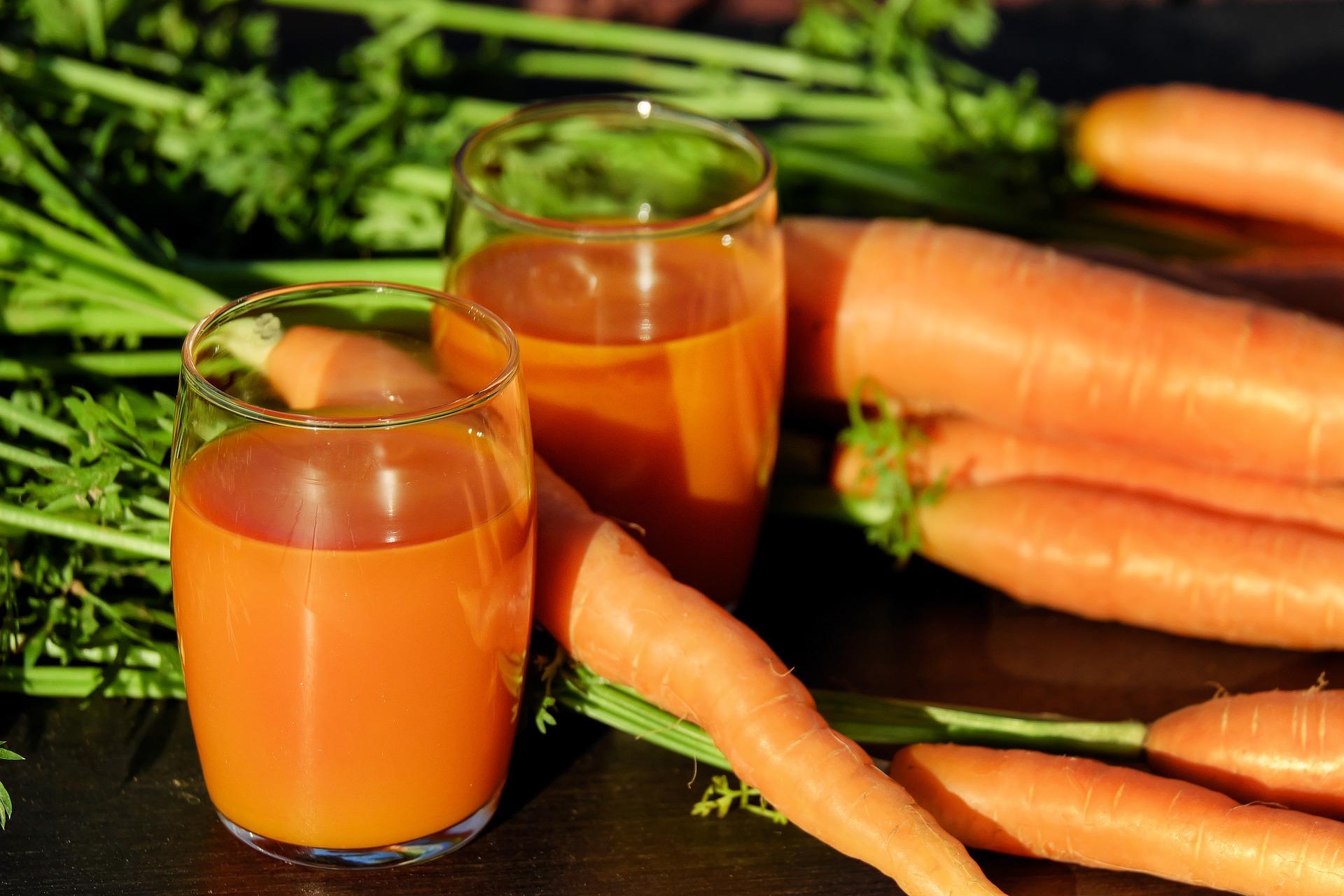 Le béta carotène est un précurseur de la vitamine A.