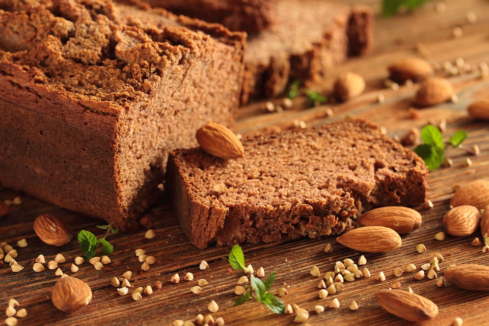 Pain sans gluten pouvant être consommé par les malades coeliaques lors d'un régime sans gluten.