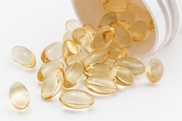 Gélules de vitamine D : la vitamine D dispose de nombreux bienfaits pour l'organisme.