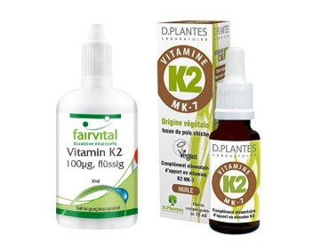 Les différentes Vitamines K2, analysées par la rédaction.