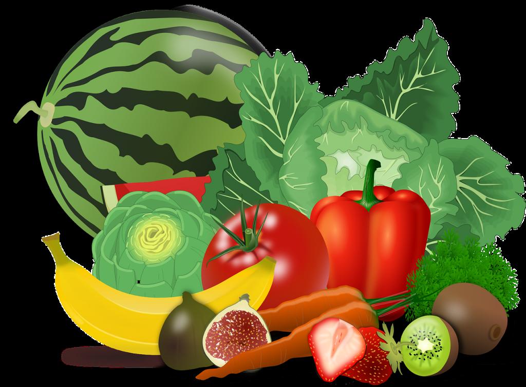Fruits et légumes : régime alimentaire recommandé en cas d'insuffisance rénale.