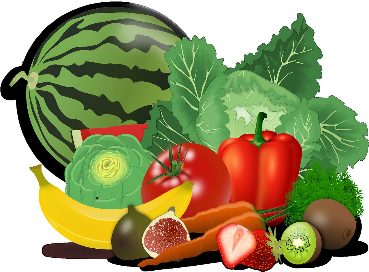 Fruits et légumes : alimentation recommandée en cas d'insuffisance rénale.