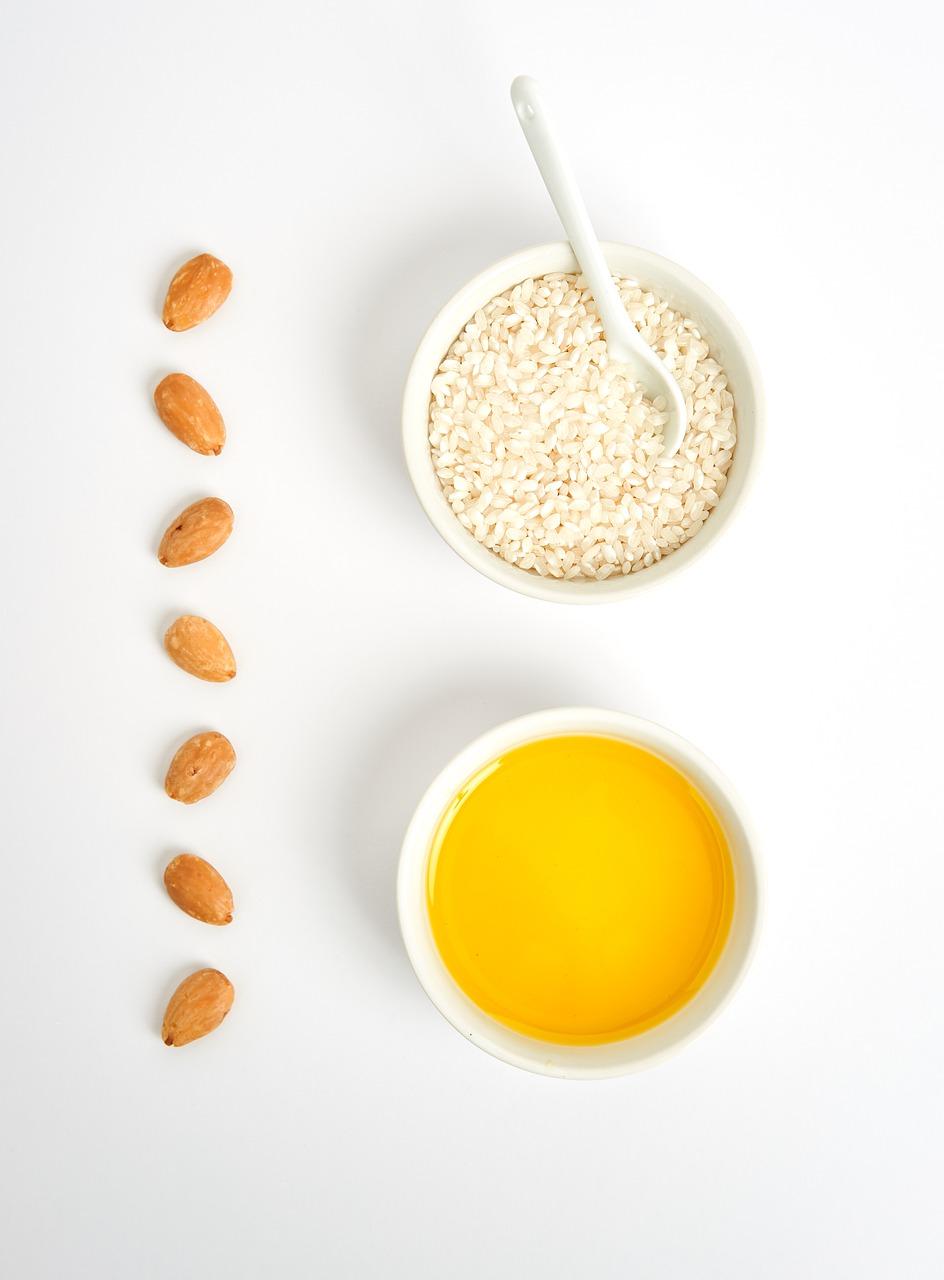 Fruits oléagineux, riz et soupe de légumes: alimentation adaptée en cas de tendinite.
