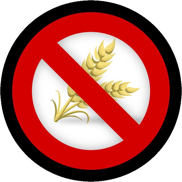 Produit sans gluten: maladie cœliaque et aliments sans gluten, traitement naturel et causes.