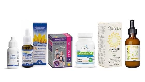 différentes vitamine D parmi les meilleures