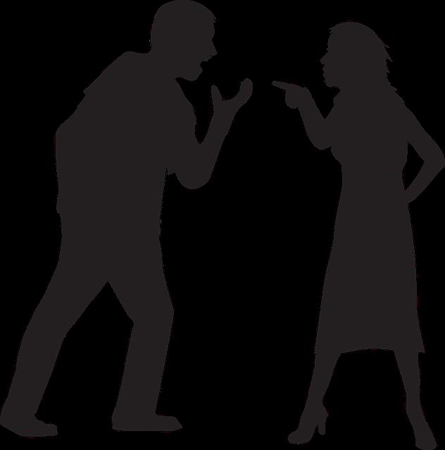 Image représentant un couple en conflit: le triangle dramatique de Karpman permet de faciliter la gestion des conflits.
