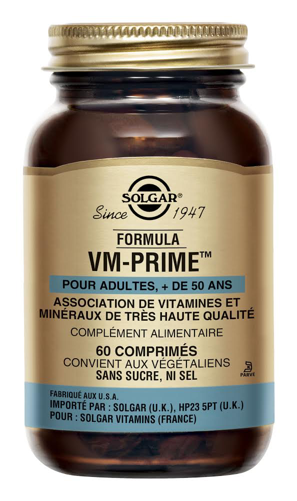 Multivitamines VM Prime Solgar