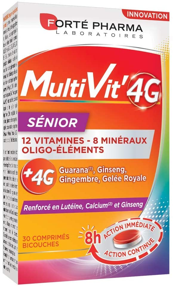 Multivitamines 4G Sénior Forte Pharma