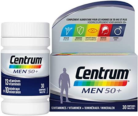 Multivitamines Centrum Men 50+