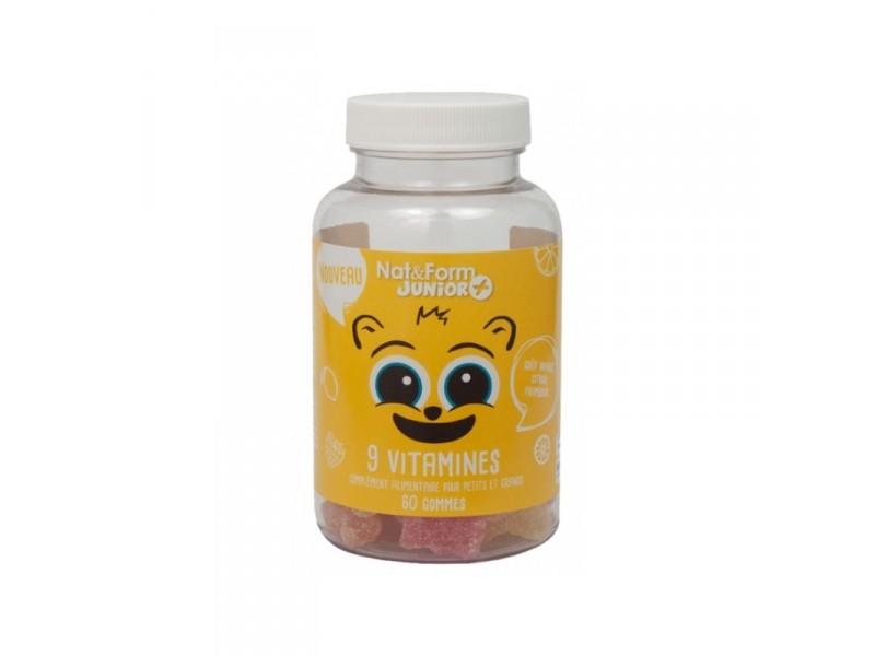 Vitamines oursons – Nat et Form Junior