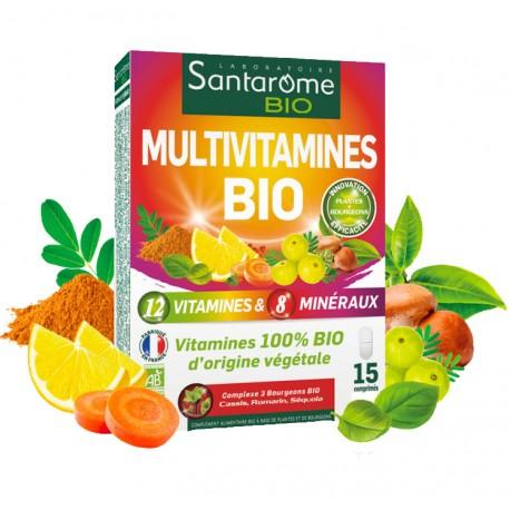 Multivitamines bio Santarome