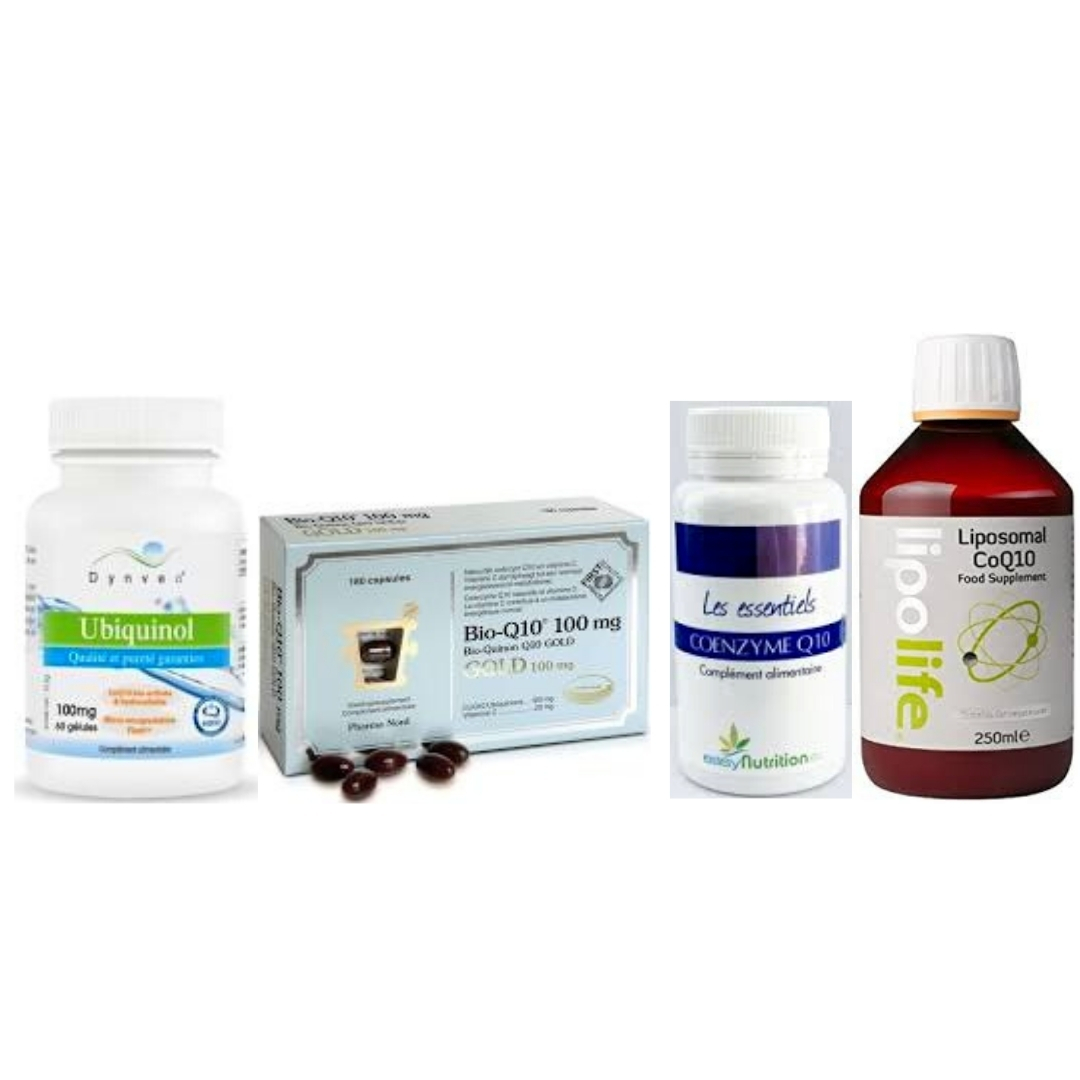 Photo des meilleures coenzymes Q10, dont nous donnons notre avis.