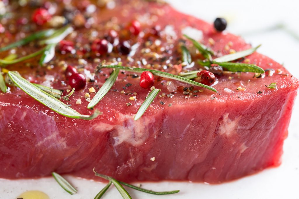 La viande de boeuf, un aliment riche en glutamine