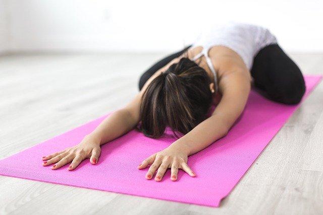 Posture de yoga pour favoriser la fertilité.
