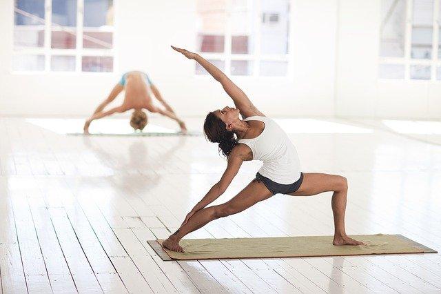 Yoga pour favoriser la perte de poids, pour maigrir.