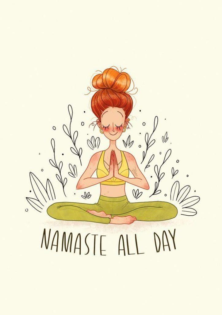 Image représentant le yoga zen.