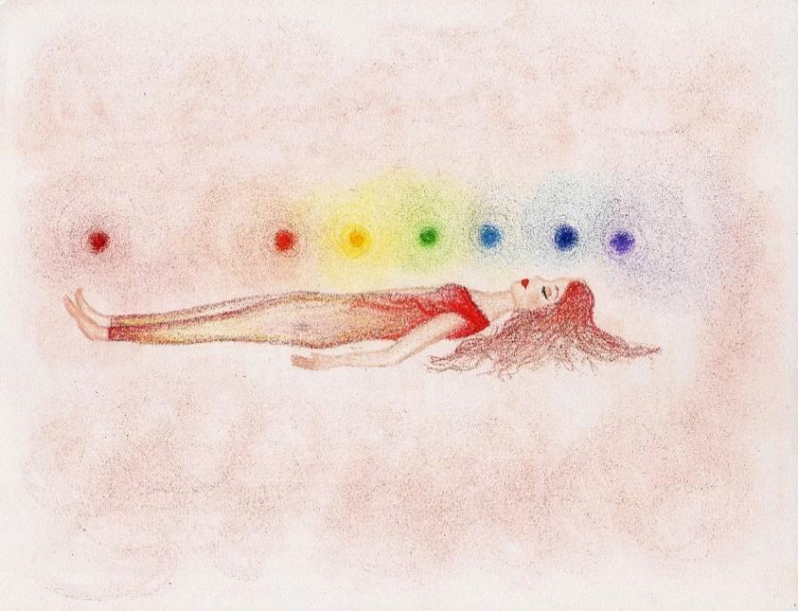 Image représentant une femme pratiquant le yoga, pour bien dormir.