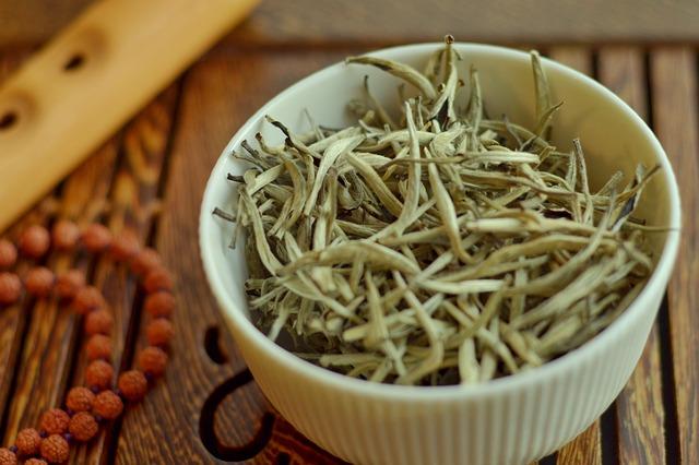 Bienfaits et vertus du thé blanc.