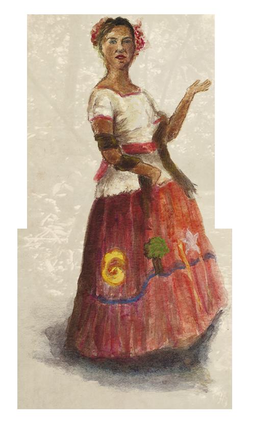 Mujer Maya 1