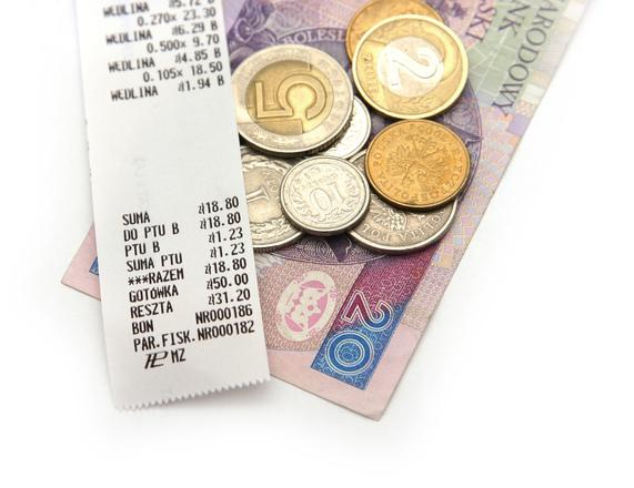 Imagem de recibo e dinheiro