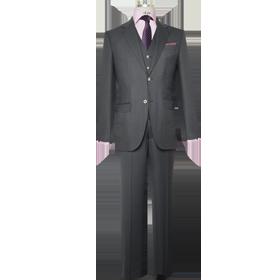 Business: Executive - Anzug Einreiher mit Weste