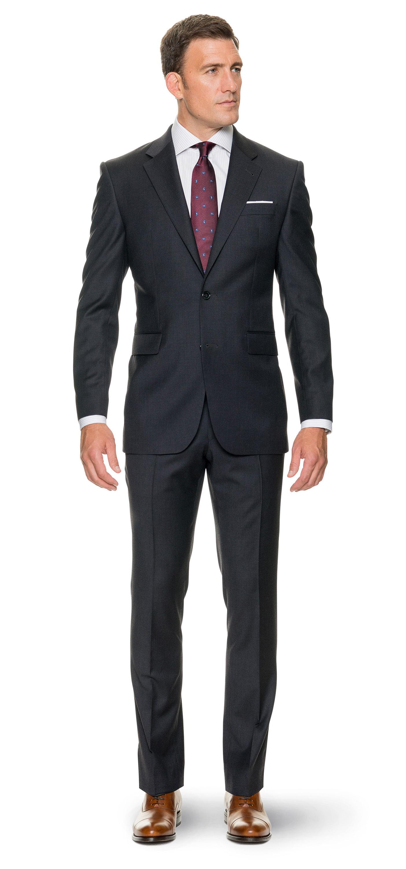 Anthrazitfarbener Anzug nach Maß ab € 349,–