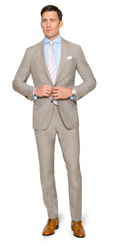 Ein sommerlicher Anzug nach Maß