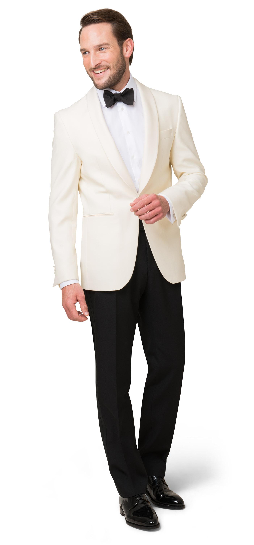 Weißes Dinner Jacket